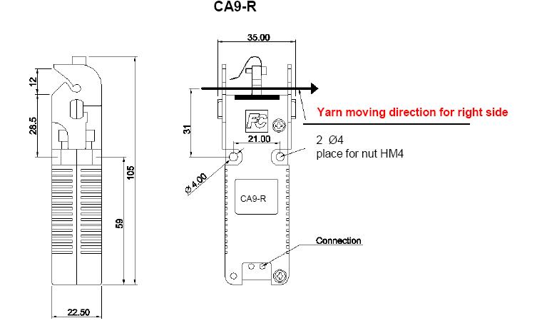 fil control yarn cutter