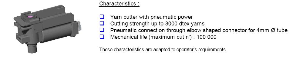 CFD yarn cutter