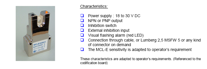 MCLE capactive sensor yarn
